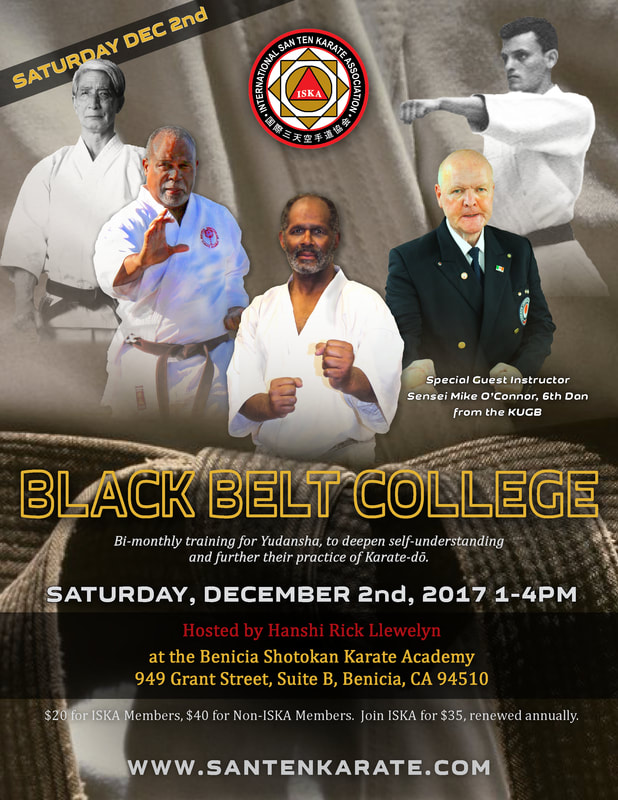 ISKA Black Belt College