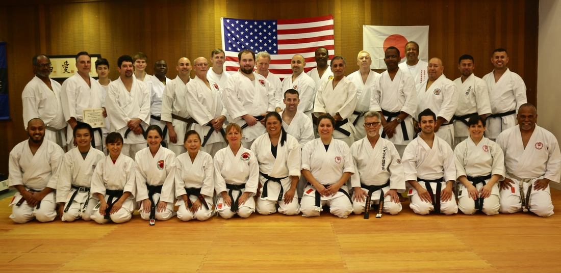 Feb. 4th, 2017 ISKA Black Belt College Group